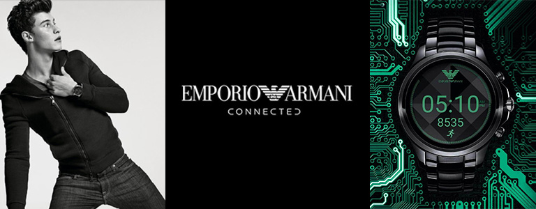 Emporio Armani Connected Smartwatch relógios