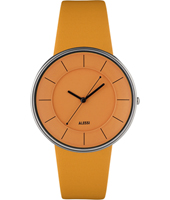 Luna By Alessandro Mendini 36mm Orange Design Watch