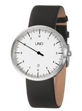 Uno Large 40mm One Hand Watch with Date