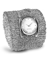 Infinity  28.50mm Mesh Triple wrap ladies watch
