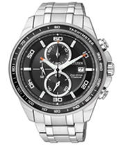 Titanium Eco-Drive Chrono Black 44mm