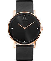 38mm Black & Rose Gold design Watch