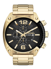 Overflow 49mm Black Gold Chronograph