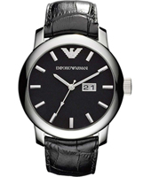 Maximus 47mm Large Black Gents Watch with Date