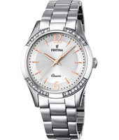 Mademoiselle 35mm Bicolor Rose Ladies Watch with Crystals