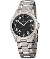 39mm Titanium Gents Watch with Date