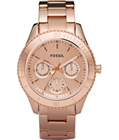 Stella  37mm Rose Gold Multifunction Ladies Watch