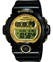 Baby-G 45mm Black & Gold Ladies G-Shock