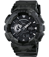 51.20mm Black Camouflage Ana-Digi G-Shock