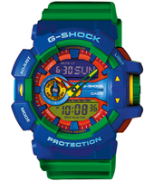 Rotary Switch 51.90mm Big Blue & Green Ana-Digi G-Shock Watch
