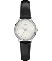 Chelsea 30mm Silver Ladies Watch with Crystals