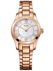 1502378 Ambassador 42mm Rose Gold Ladies Watch with MOP Dial