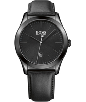 Ambassador 43mm Black ceramic watch with Date