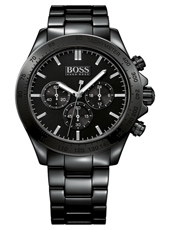 Ikon 44mm Black ceramic chronograph