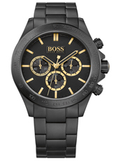 Ikon BlackGold 44mm Black Steel Chronograph