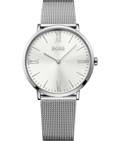 1513459 Jackson Slim Ultra Silver gents watch on mesh strap