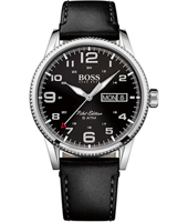 1513330 Pilot 44mm Steel Gents Watch with 24 Hour Dial