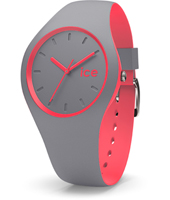 Ice-Duo 41mm Grey & Pink Silicone Watch