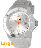 Ice-Forever Silver watch size Big