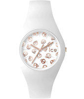 Ice-Skull White watch with silicone strap