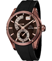 Special Edition Copper gents watch with small second, big date & retrograde day scale