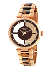 C Thru Me  36mm Rose Gold & Tortoise See Through Ladies Watch
