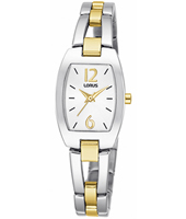 19.50mm Tonneau Bicolor Ladies Bracelet Watch