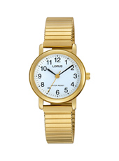 26mm Gold Ladies Watch with Flexible Metal band