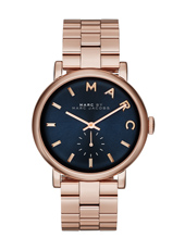 Baker 36.50mm Rose Gold Petite Seconde Watch