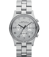 Henry 40mm Silver Ladies Chrono with Date