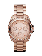 Blair Mini 33mm Rose Gold Lady Glitz Watch