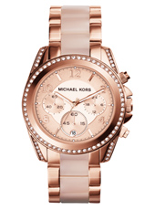 Blair 39mm Rose Gold Lady Chronograph
