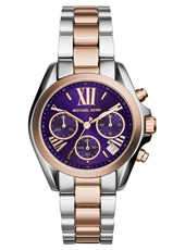Bradshaw Mini 36mm Bicolor Rose & Purple Ladies Chronograph