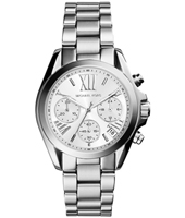 Bradshaw Mini 36mm Silver Ladies Chronograph with Date