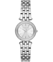 MK3294 Darci Petite 26mm Silver Ladies Watch with Crystals