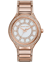 Kerry 37mm Rose Gold Ladies Watch with Crystals