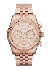 Lexington 38mm Rose Gold Lady Chrono Watch