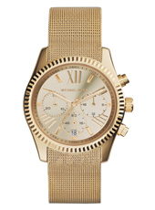 Lexington 38mm Gold Ladies Chrono with Milanese Band