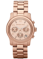 Runway Mid 38mm Rose Gold Lady Chrono Watch