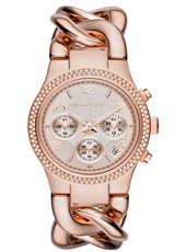 Runway Twist 38mm Rose Gold Lady Watch