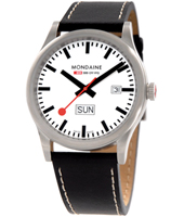 Sport l 41mm Swiss Railway Gents Watch with DayDate