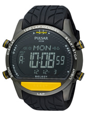 PV4005  49mm Large Digital World Time Chrono with Lap Memory