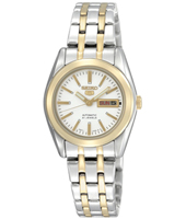 Seiko 5 Lady 26mm Bicolor Automatic Ladies Day/Date Watch