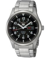 Seiko 5 42mm Automatic 10 ATM Sports Watch with Day/Date