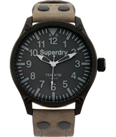 Aviation Equipment 48mm Black Pilot Watch