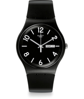 Backup Black 41mm New Gent Watch