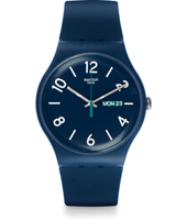 A World In Colors - Backup Blue 41mm New Gent Watch