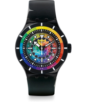 A World In Colors - Chromatic Water 44mm Scuba Libre Watch