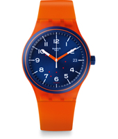 Tech Mode - Sistem Tangerine 42mm Plastic Automatic Watch with date
