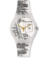 The Swatch Art Peace Hotel 41mm New Gent Watch